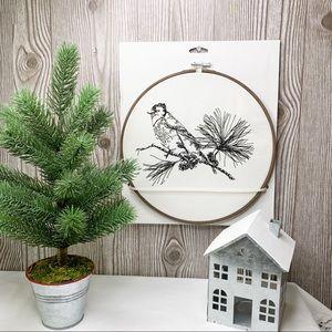 NWT! Modern Farmhouse Embroidery Hoop Wall Decor